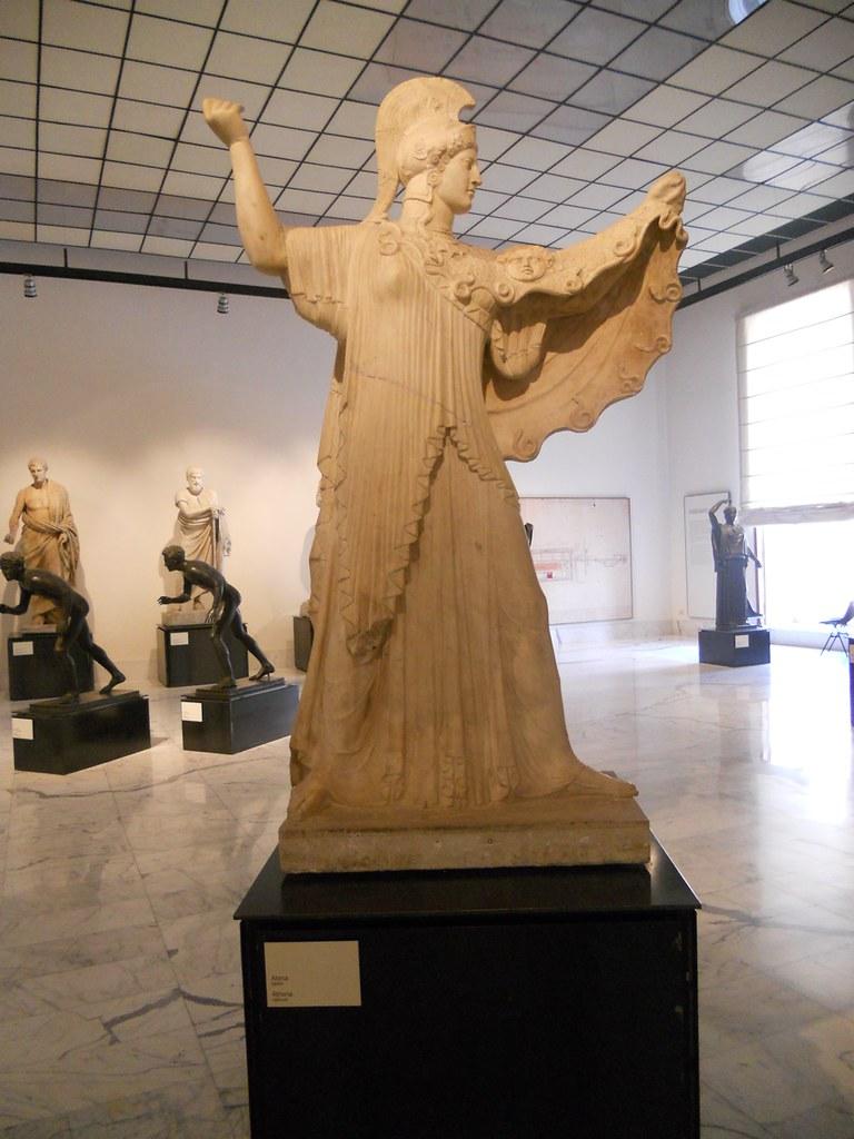 Athena Promachos From The Villa Of The Papyri