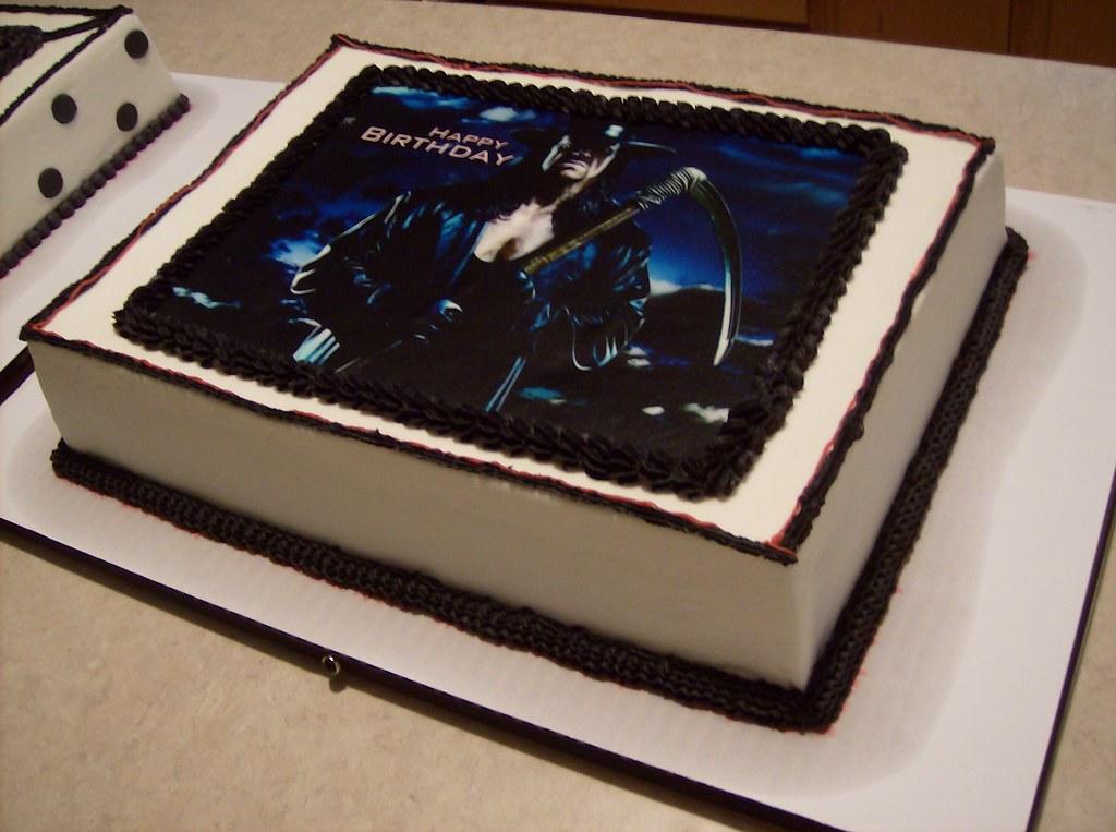 Wwe Undertaker Birthday Cake Pam S Homemade Cakes Flickr