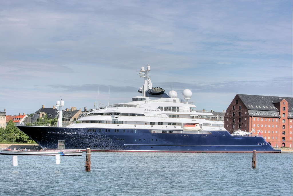 Motor Yacht Octopus In Copenhagen Harbour Worlds