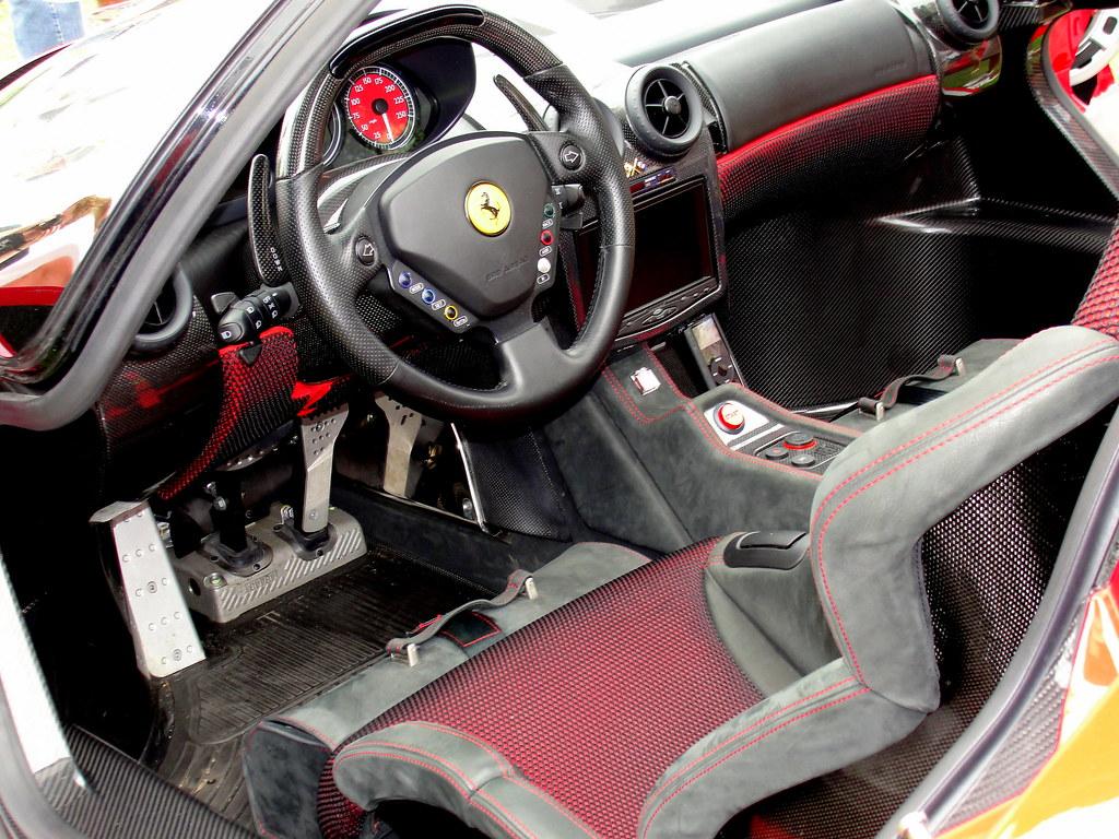Ferrari P45 Interior Horrible Shot But This Car Is Too