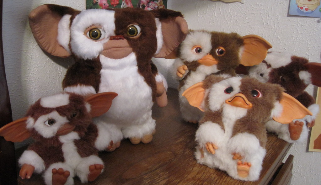 My Gremlins Collection Of Gizmo Toys Props And Statues