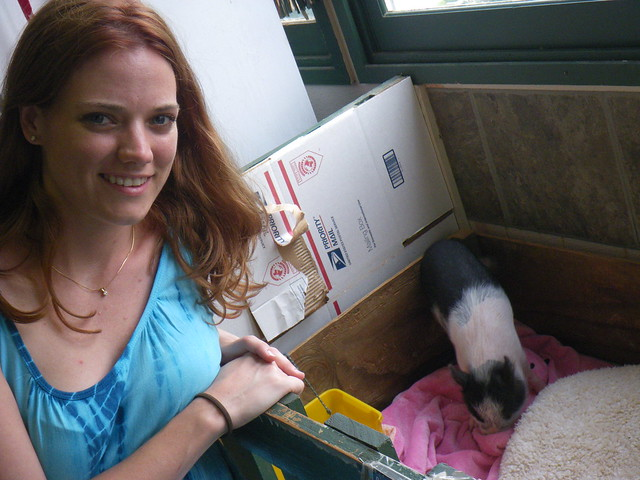 Me and a pig