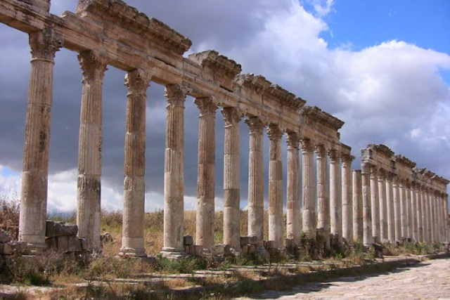 SYRIEN-Apamea - Säulen - 22/869