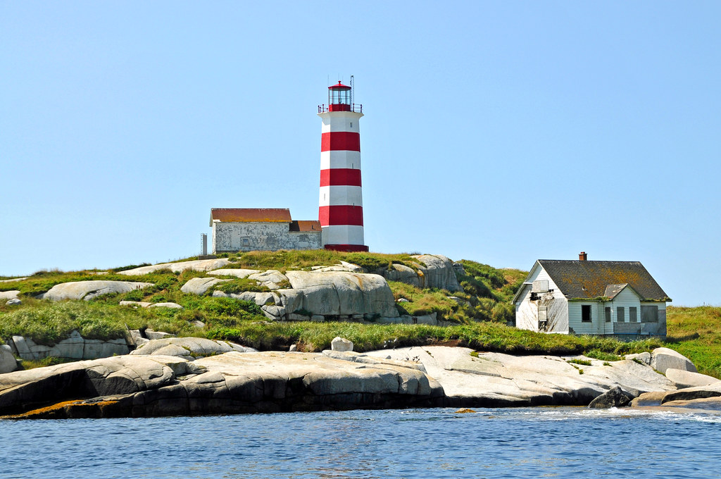 Dgj 8401 Last Views Of The Sambro Island Lighthouse Flickr