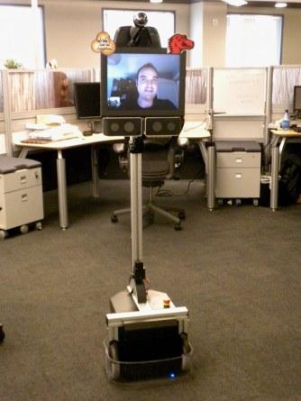 telepresence robots in universities