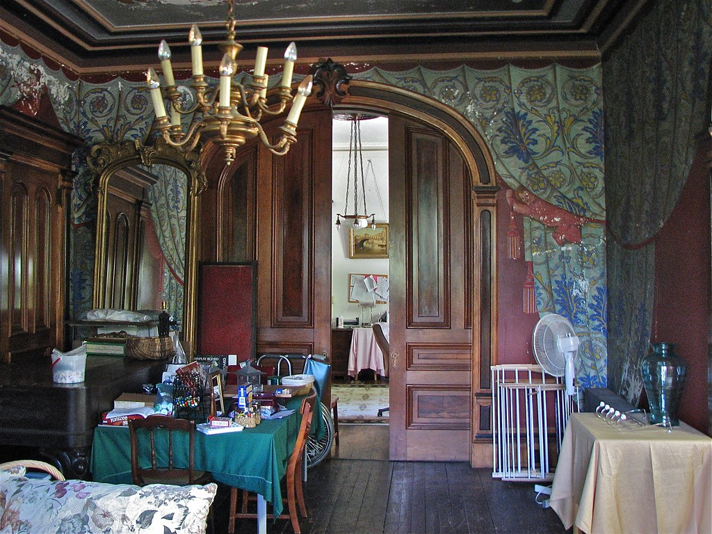 Shard Villa 1872 1874 Interior Trompe Loeil Fresco D Flickr