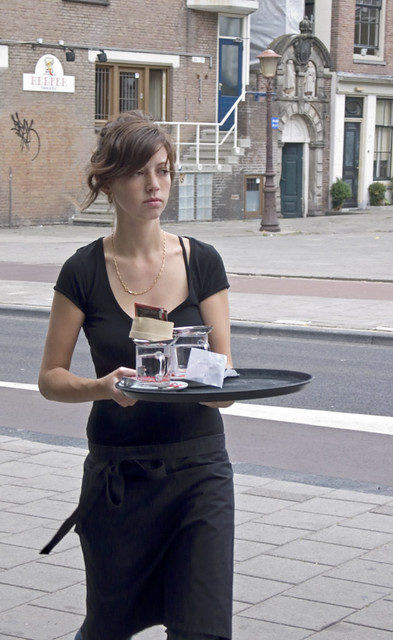 Pretty Waitress Flickr Photo Sharing