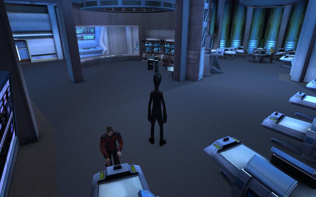 Star Trek Online Season 2 Ship Interiors Sickbay