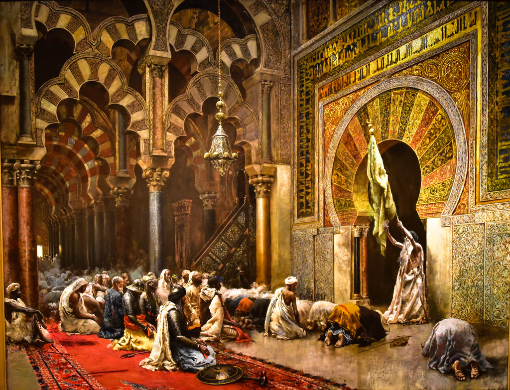 Edwin Lord Weeks   Interior of the Mosque at Cordova at Wa      Flickr     Edwin Lord Weeks   Interior of the Mosque at Cordova at Walters Art  Museum Baltimore