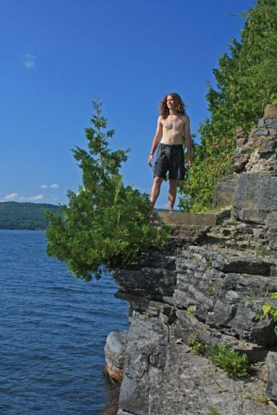 Button Island, Lake Champlain, Button Bay State Park, Addi ...