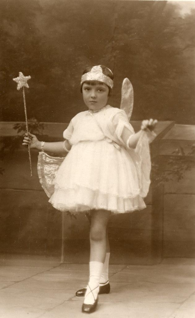 1930s Vintage Fairy Found Image Taken By Dorondo Mills