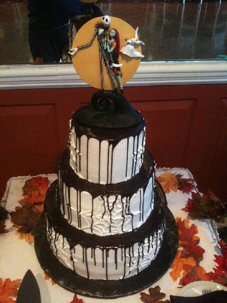 A Nightmare Before Christmas Wedding Cake Contis Pastry