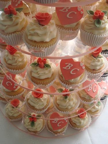 Wedding Cupcake Tower Wedding Cupcake Tower With Rich