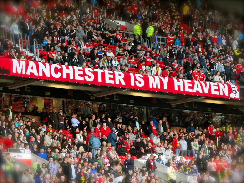 Manchester Is My Heaven Manchester United Fans In