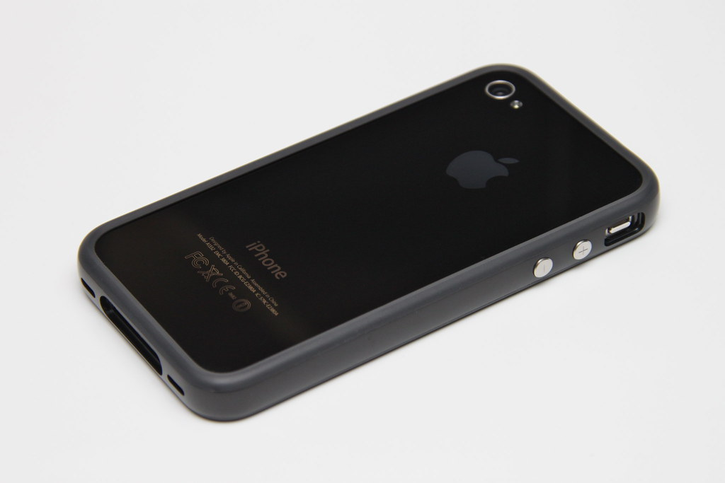 Iphone 4 Black Bumper Black Back Iphone 4 32gb Black
