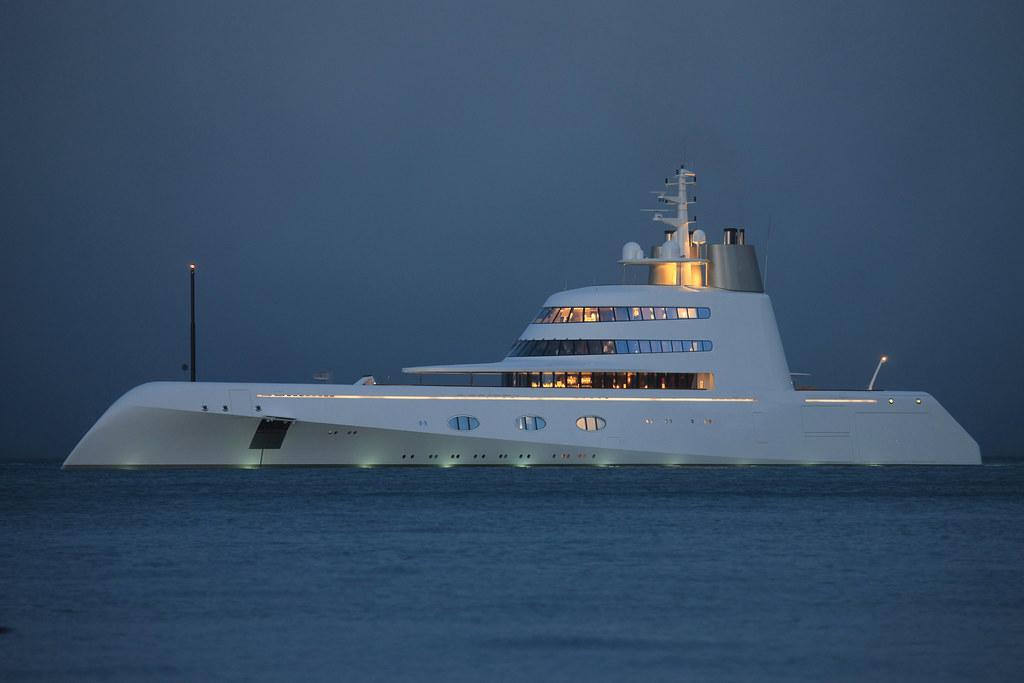 Motor Yacht A Andrey Melnichenkos 390 Foot Motor Yacht