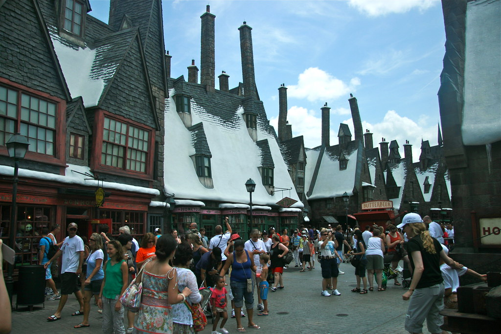 Hogsmeade Filled With Muggles And Transported Across The O