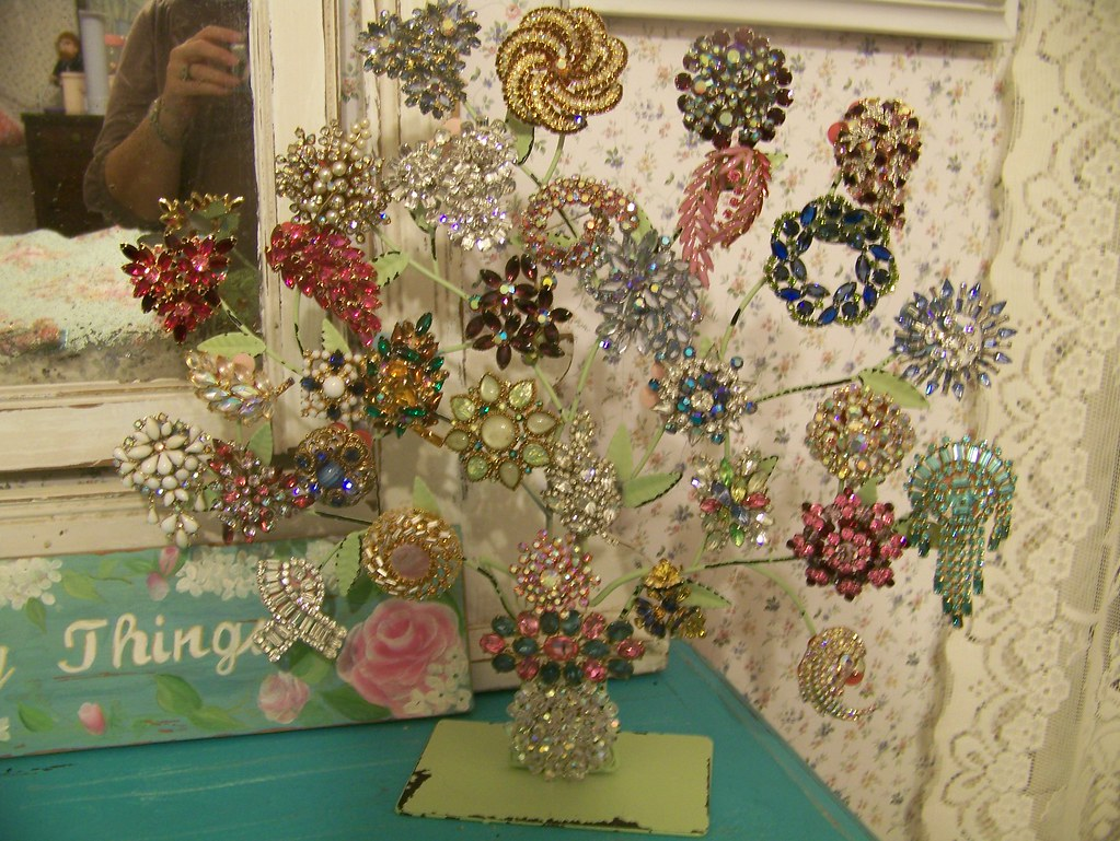 Brooch Tree Display Trying To Keep Some Beautiful Pins