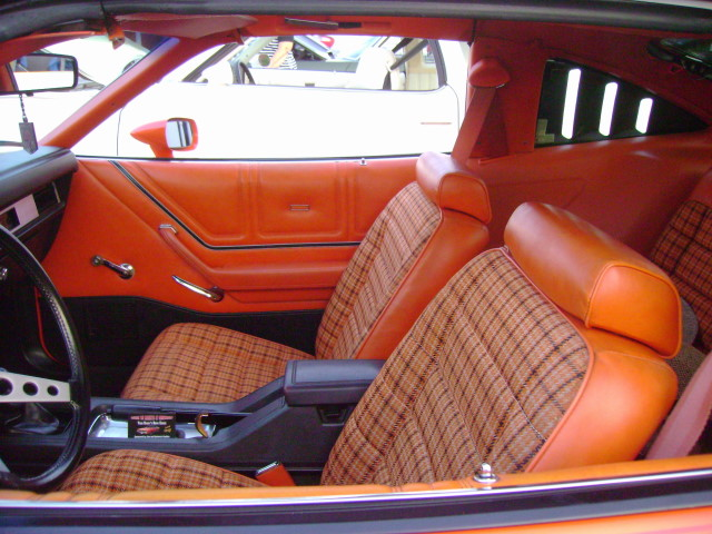 1978 Ford Mustang II King Cobra Interior Man Only In