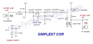 SIMPLEST COR | Schematic Simplest Repeater Controller | Jaka Lesmana | Flickr