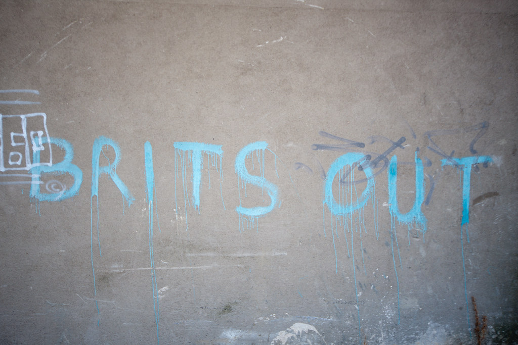Political Graffiti Quot Brits Out Quot William Murphy Flickr
