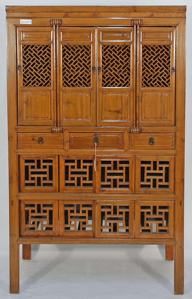 Bk0008y Antique Chinese Kitchen Cabinet Stunning Example