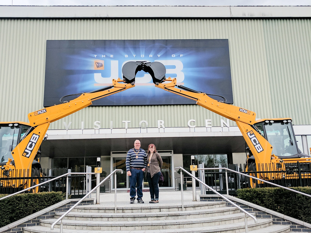 Taking the JCB Factory Tour