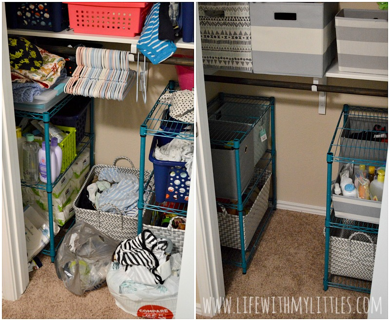 Tips For Organizing Baby S Closet Life With My Littles
