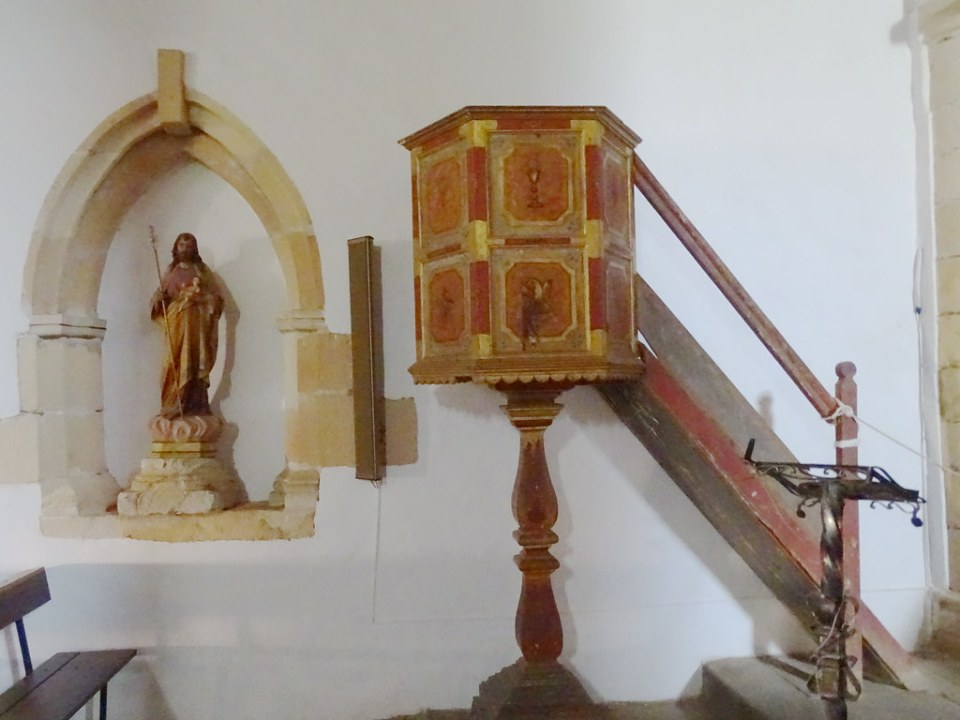 Pajara pulpito de la Iglesia Nuestra Señora de la Regla Isla de Fuerteventura 331