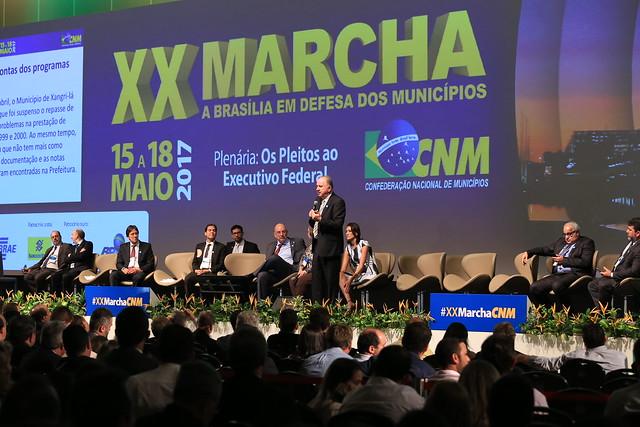 Presidente da Famep em Brasília