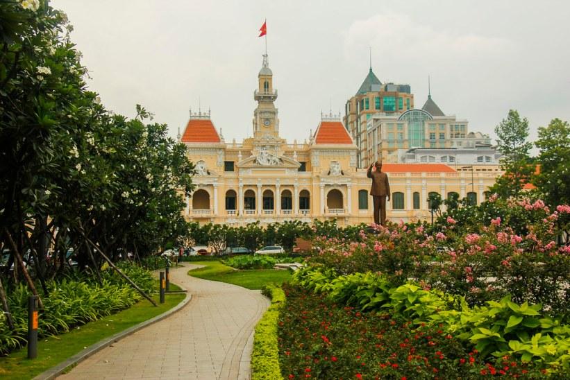 walking street i Ho Chi Minh City - Saigon
