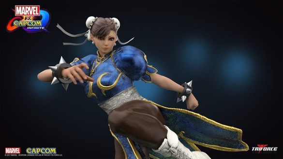 Marvel vs Capcom Infinite - Chun Li Statue