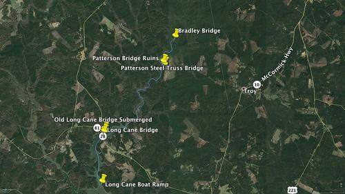 Long Cane GPS Track