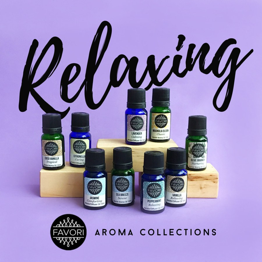 FAVORI Relaxing Aroma Collection 02 Aroma Oils
