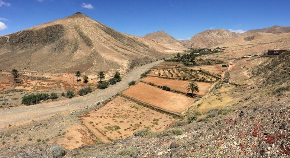 Caserio Buen Paso Isla de Fuerteventura panoramica
