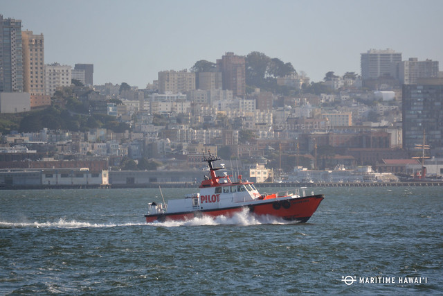 Pilot boat Golden Gate