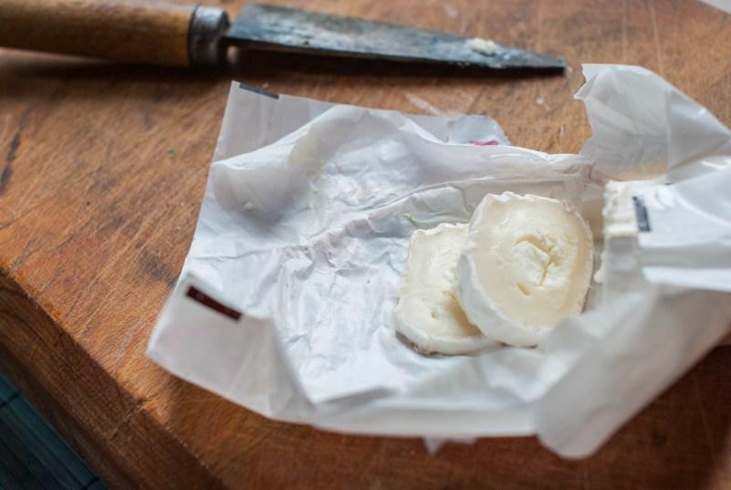 sałatka z kozim serem