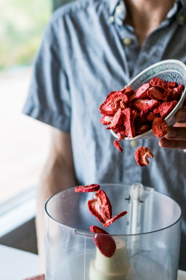 freeze-dried berries are great for baking: lots of flavor without extra moisture