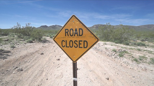 Mojave Road Closure