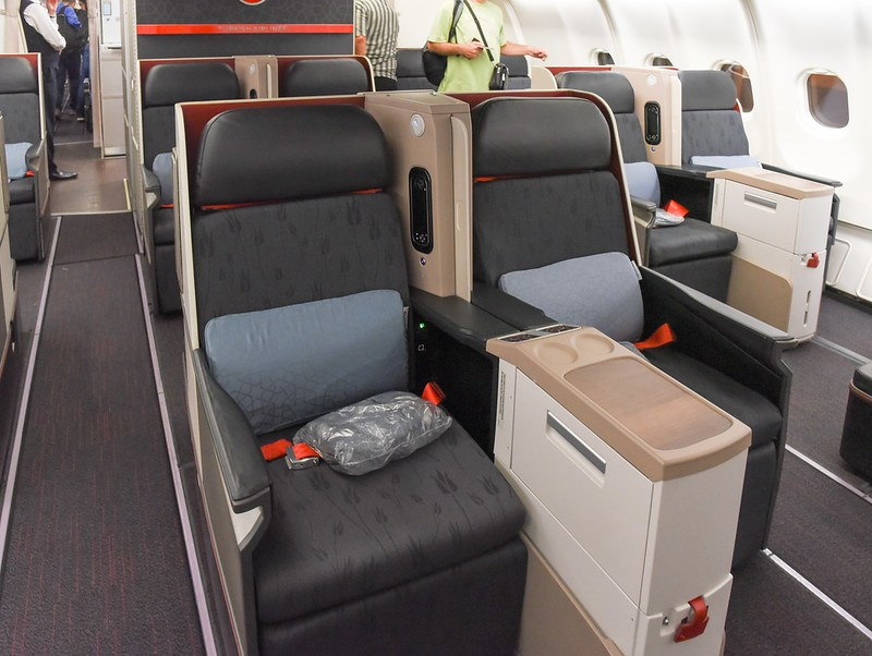 Flight Review Turkish Airlines Airbus A330 300 Business
