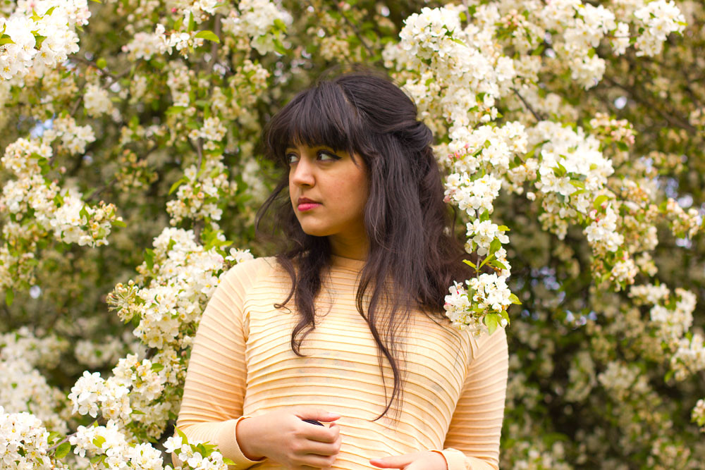going green eco-living vegan slow fashion cruelty free uk blog london laila kew gardens hanami cherry blossom