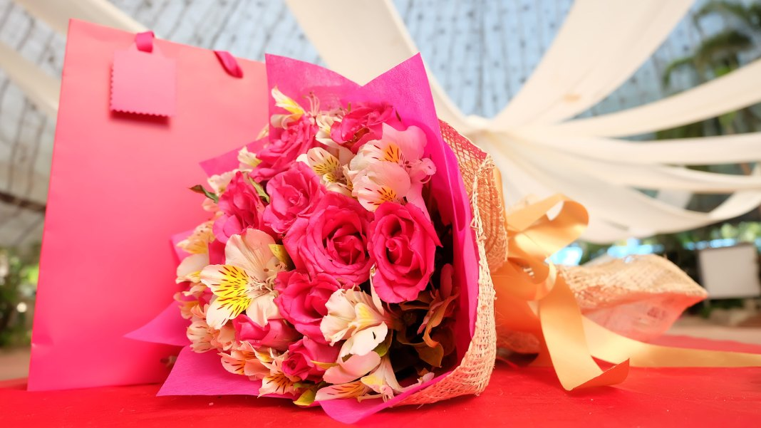 bouquet of flowers for mama