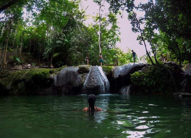 Siquijor Island-Lagaan Falls