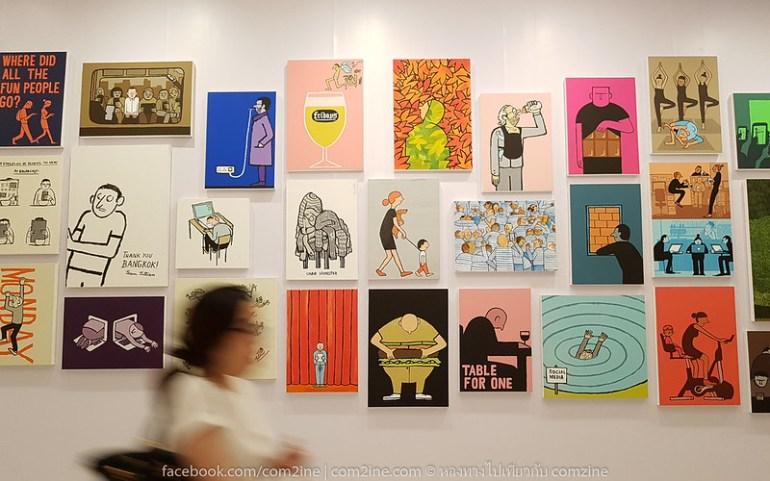 5ฌอง จูเลียง - The People งานศิลป์สนุก สะท้อนยุคโมเดิร์นไลฟ์