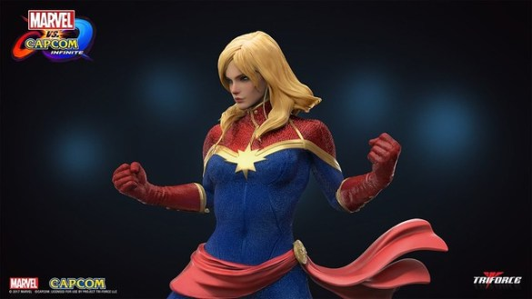 Marvel vs Capcom Infinite - Captain Marvel Statue