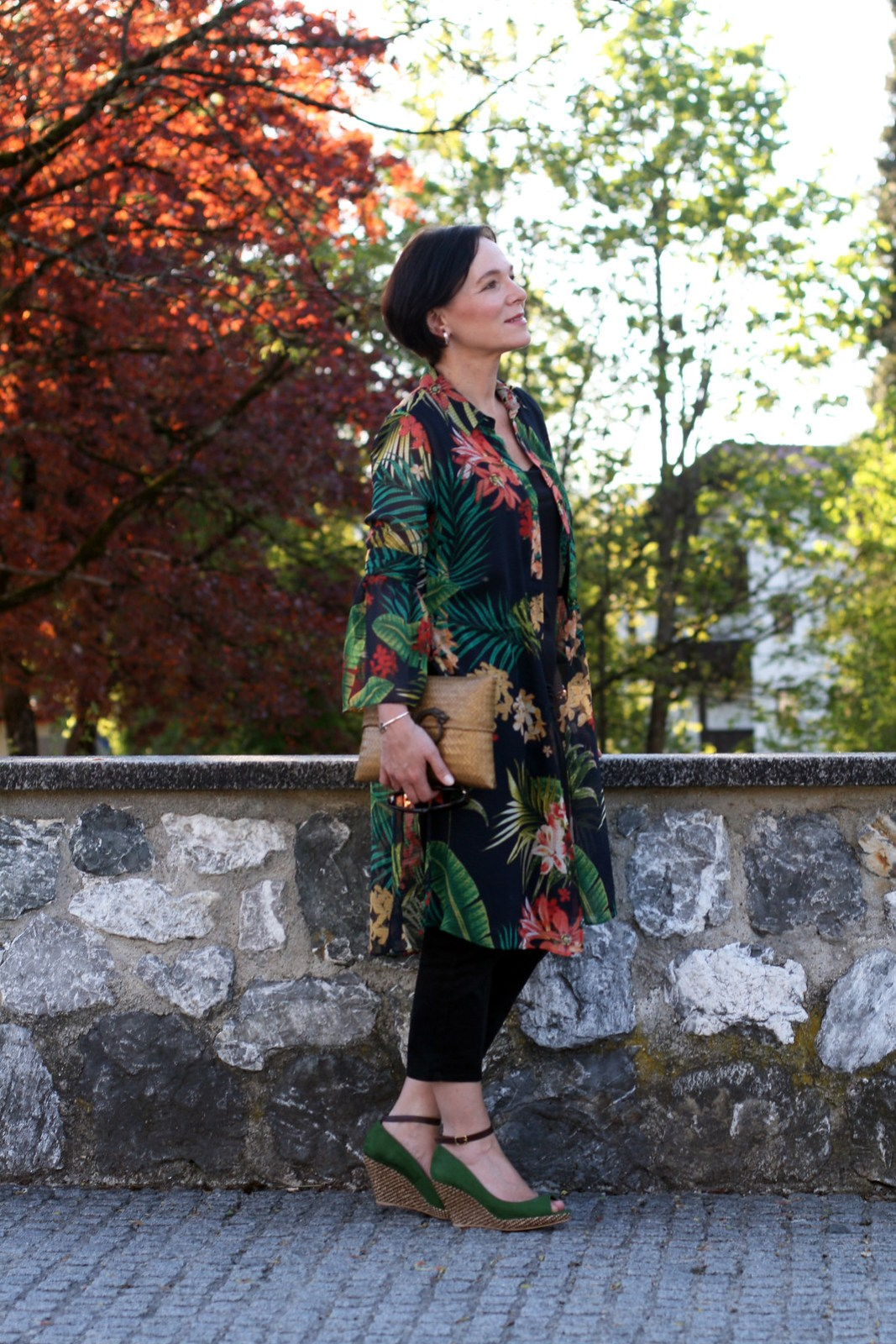 Floral Tunic Zara Summerlook LadyofStyle