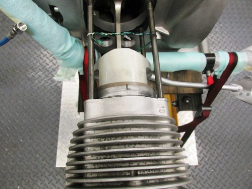 Sliding Cylinder and Piston onto Long Cylinder Studs