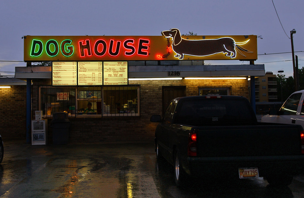 Dog House Drive-In - 1216 Central Avenue SW, Albuquerque, New Mexico U.S.A. - August 3, 2011