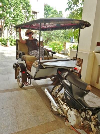 tuk-tuk, Siem Reap, Cambodia - the tea break project solo travel blog