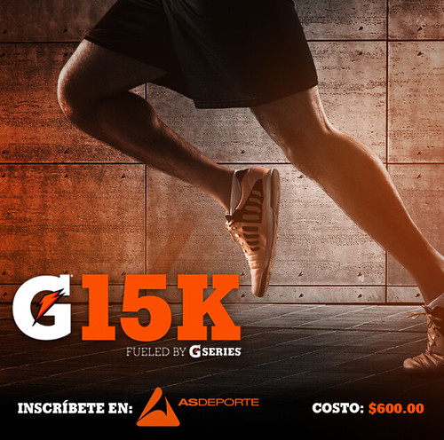Gatorade G15K 2017